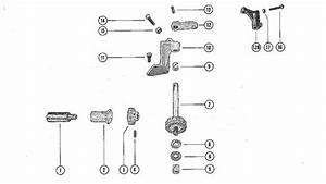 Mercury Marine 60 Throttle Control Linkage Parts