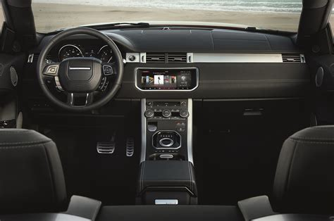 land rover interior 2017 2017 range rover evoque convertible first look