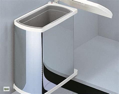 Mülleimer In Küchenschrank by Hailo Uno Abfalleimer 1x18 Liter Edelstahl 45 Er