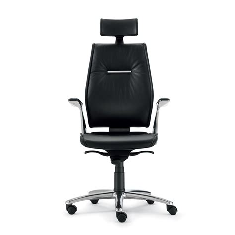 grain leather executive office chair ines modern design