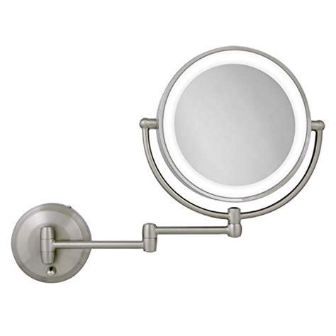 zadro 10x 1x next generation led wall mount mirror satin