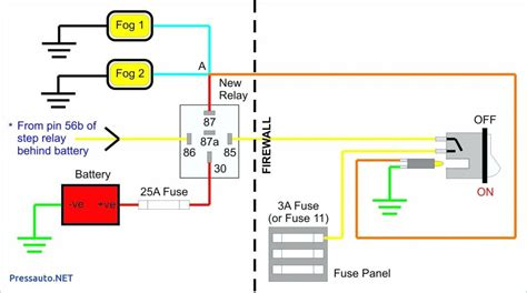 Fog Light Wiring Diagram by Fog Light Wiring Diagram With Relay Untpikapps