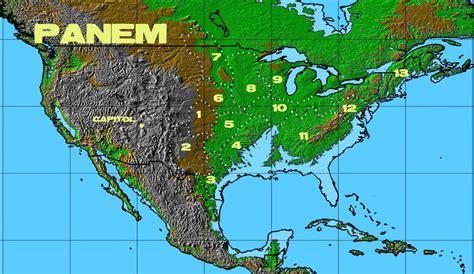 panem districts map  firalcar  deviantart