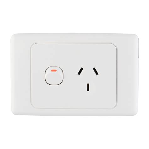 bunnings hpm hpm white single power point with removable cover compare club