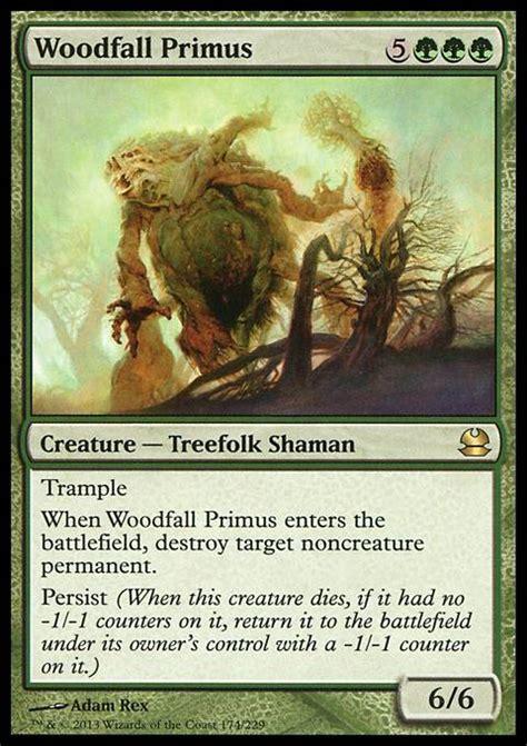 Mtg Treefolk Deck Modern by Woodfall Primus Mtg Card