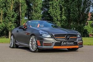 Mercedes 55 Amg : mercedes slk 55 amg gets carlsson interior with orange and carbon trim autoevolution ~ Medecine-chirurgie-esthetiques.com Avis de Voitures