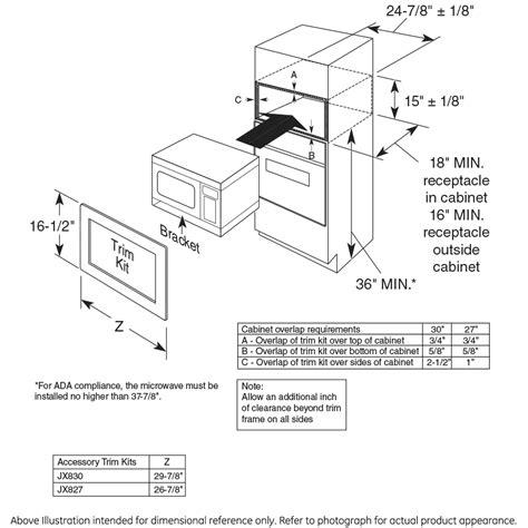 zemsfss monogram  cu ft countertop microwave oven  monogram collection