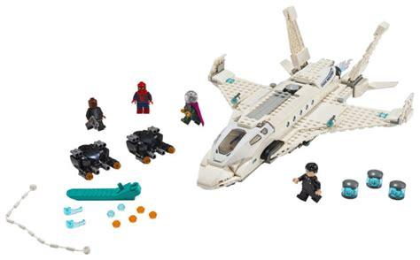 lego spider man   home sets   order marvel toy news