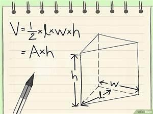 Wasservolumen Berechnen : das volumen von einem prisma berechnen wikihow ~ Themetempest.com Abrechnung