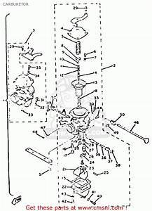 Yamaha Xs650 1981  B  Usa Carburetor