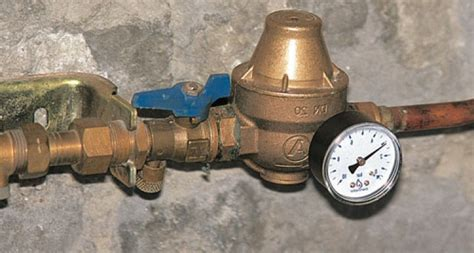 reducteur de pression d eau poser un r 233 ducteur de pression d eau sur une canalisation