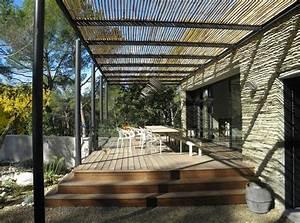 maison contemporaine a pernes contemporain terrasse en With amenagement terrasse exterieure appartement 6 patio marseille un patio plus contemporain decoration