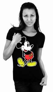 Micky Maus T Shirt Damen. damen t shirt minnie mouse mickey