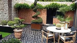 le jardin paysage obojardin cholet 49 bressuire 79 With amenagement terrasse et jardin photo