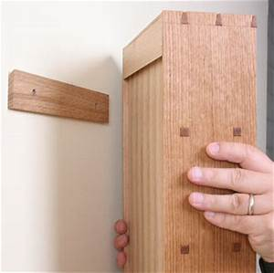 How to Hang a Cabinet on the Wall - FineWoodworking