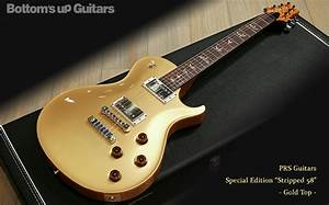 PRS Special Edition Stripped 58 Gold Top