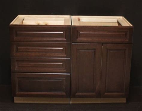 48 sink base cabinet kraftmaid kaffee cherry bathroom vanity sink base cabinet