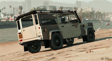 Land Rover Defender 110 (with Extras) For Gta 5