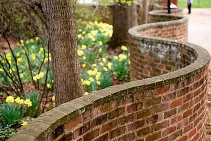Virginia University Uva Serpentine Wall