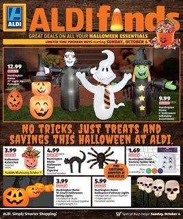 aldi  store ad specials october  october