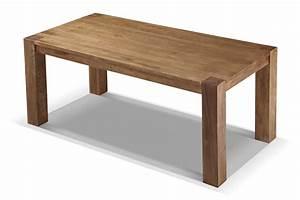 Table de salle a manger campagne en bois massif rose moore for Table salle a manger en bois