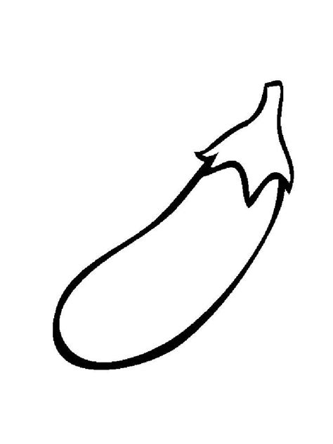 eggplant coloring pages   print eggplant
