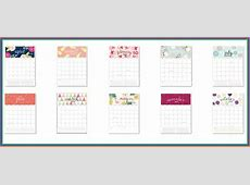 Monthly Printable Calendar 2019 Calendar 2019