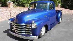 1950 Chevy Truck In Blue For Sale Old Town Automobile In