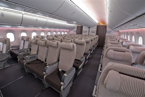 jal  ln  interior photography airlinereporter