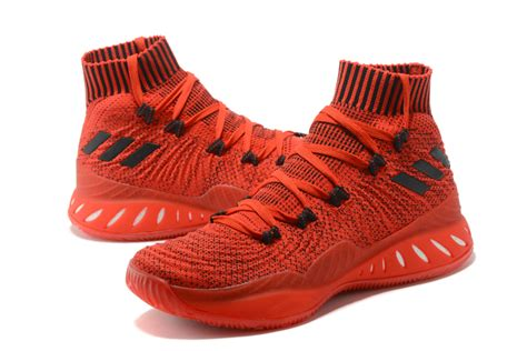 adidas crazy explosive  primeknit chinese red black