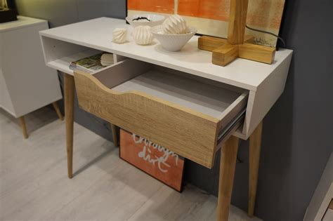 retro style desk l modern retro style console table desk oslo