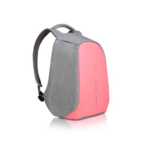 xd design bobby compact anti theft backpack coralette