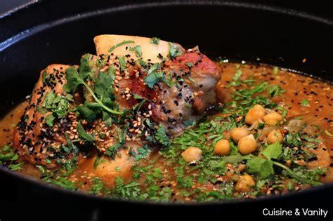 cuisiner un jarret de veau jarret de veau braisé coriandre et pois chiches cuisine