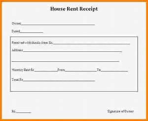 5 House Rent Receipt Invoice Example