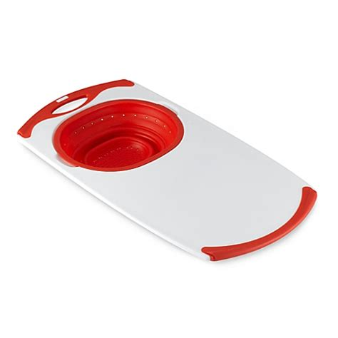 the sink colander and cutting board buy dexas 174 popware the sink collapsible strainer