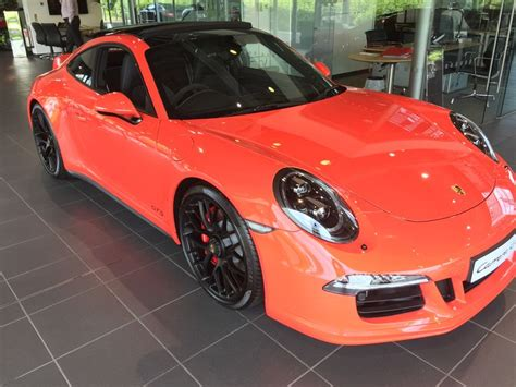 porsche 911 orange porsche 911 991 gts lava orange porsche neil 39 s car