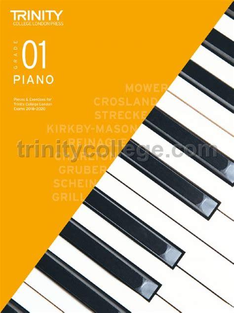 trinity college london piano exam pieces exercises