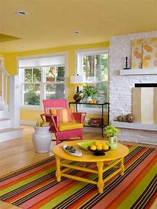 Yellow, Living, Room, Color, Schemes, Ideas, 10, U2013, Decoredo