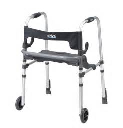 rs8 10233 clever lite ls rollator walker with seat and