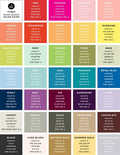 17 best ideas about pantone to cmyk 2017 on