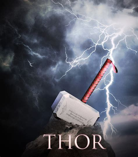 mjollnir thor 39 s hammer by devil grades on deviantart
