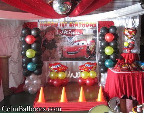 lightning mcqueen decoration  royal concourse cebu
