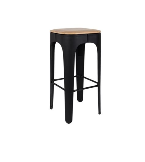 bureau hauteur r馮lable tabouret de bar up high noir white label living