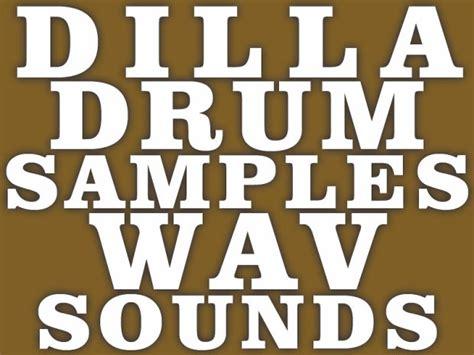J Dilla Hip Hop Drum Kit Sounds (one Hit Wav Samples)