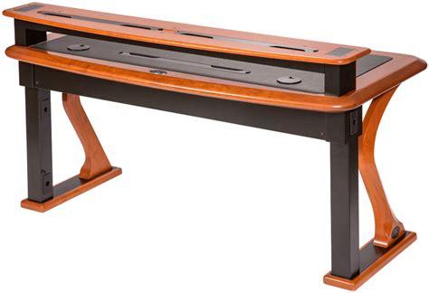 computer riser for desk premium wood desktop riser shelf full caretta workspace