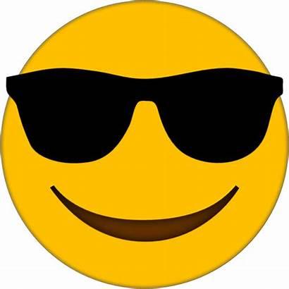 Emoji Sunglasses Transparent Clipart Smiley Clip Faces