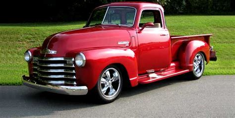 chevy advance design trucks 1947 54 history classic muscle