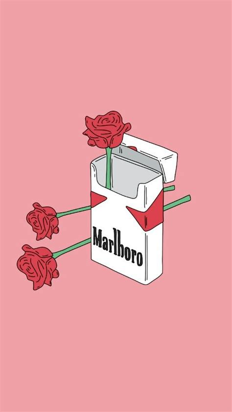 Aesthetic Illustration Iphone Aesthetic Wallpaper by Imagen De Wallpaper And Cigarettes Wallpapers In