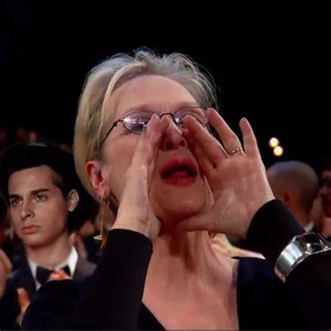 Shouting Meme - the tragic event in meryl streep s life that led to her happily ever after with don gummer
