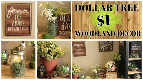 Dollar Tree Woodland Home Decor Ideas